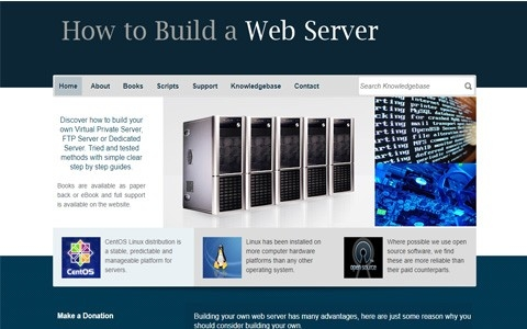 Build a Web Server by Southport Web Design