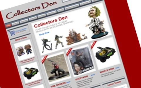 collectors Den by Southport Web Design