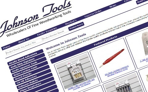 Johnson Tools by Southport Web Design