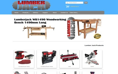 Lumber Jack Tools Direct by Southport Web Design