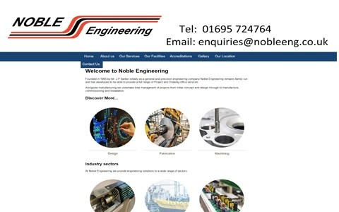 Noble Engineering by Southport Web Design