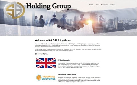 S & G Holding Group by Southport Web Design